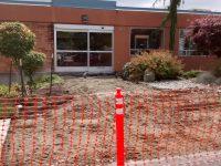 Medical Center entrance closed