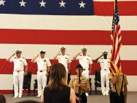 Anacortes residents in 'change of command'