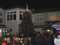 Chamber lights up for Christmas